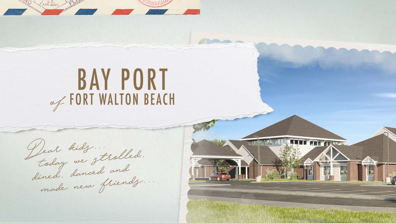 Bay Port of Fort Walton Beach - An upscale assisted living and memory care community in Fort Walton Beach, FL